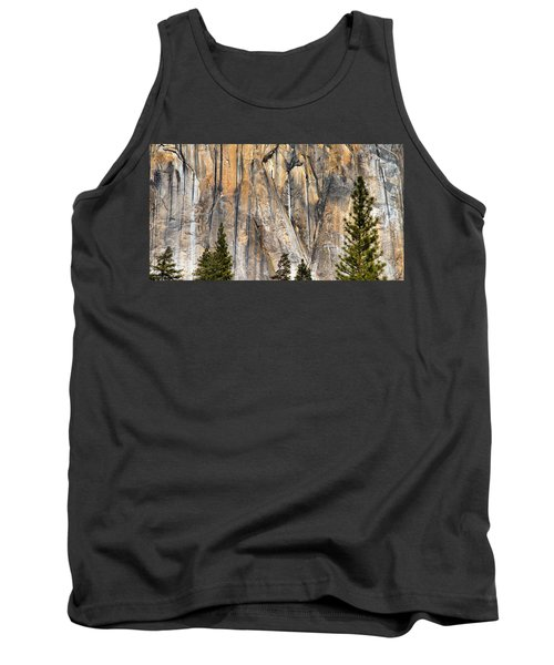 Trees And Granite Tank Top by Josephine Buschman