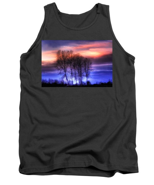 Trees And Twilight Tank Top