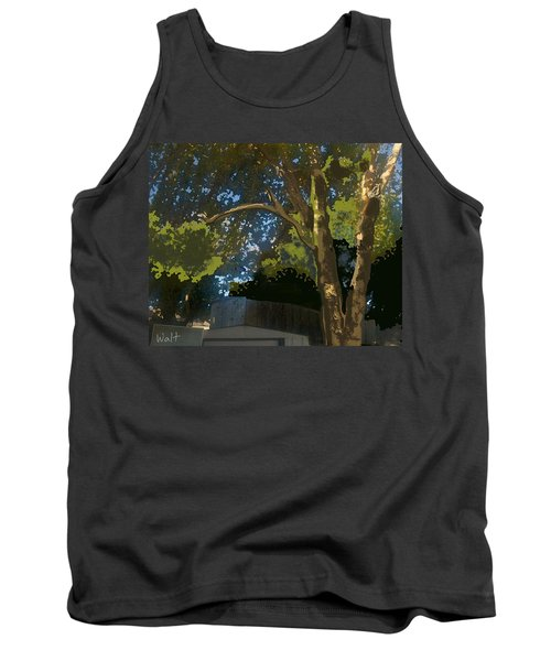 Trees In Park Tank Top