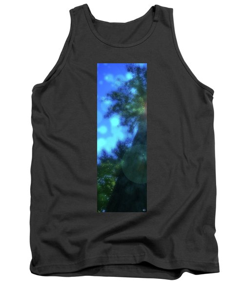 Trees Left Tank Top by Kenneth Armand Johnson