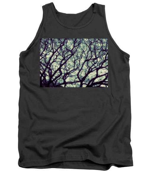 Trees Tank Top by Ranjini Kandasamy