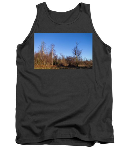 Trees With The Moon Tank Top