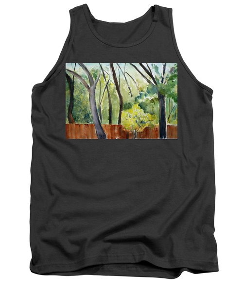Trees1 Tank Top by Tom Simmons