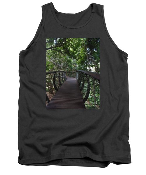 Treetop Canopy Walk Tank Top by Bev Conover