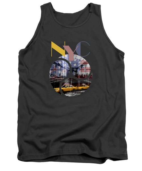 Trendy Design New York City Geometric Mix No 2 Tank Top