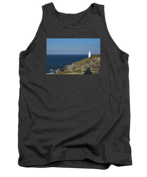 Trevose Head Lighthouse Tank Top by Brian Roscorla