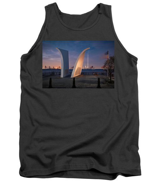 Tank Top featuring the photograph Tribute In Light by Eduard Moldoveanu