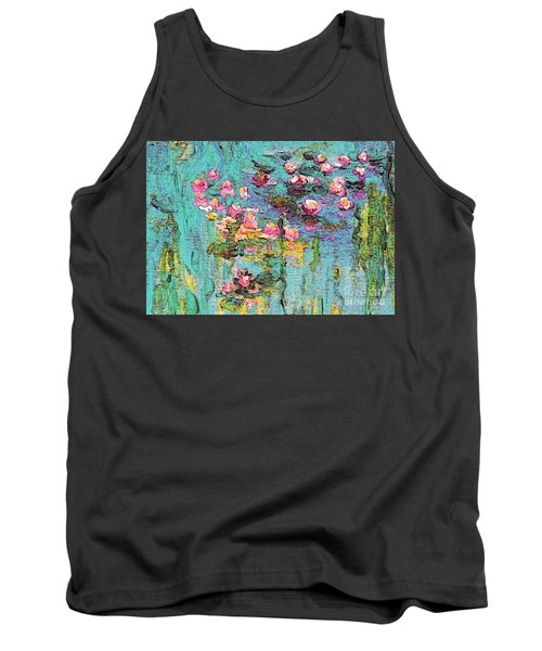Tribute To Monet II Tank Top by Holly Martinson