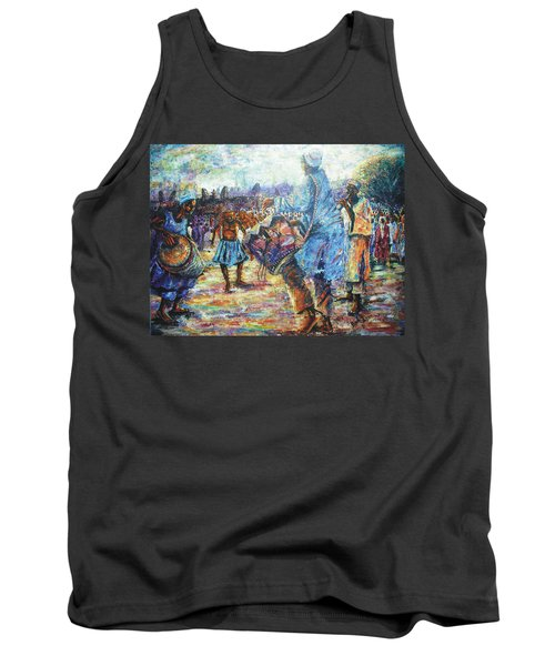 Tribute To The Royal Fathers Tank Top by Bankole Abe