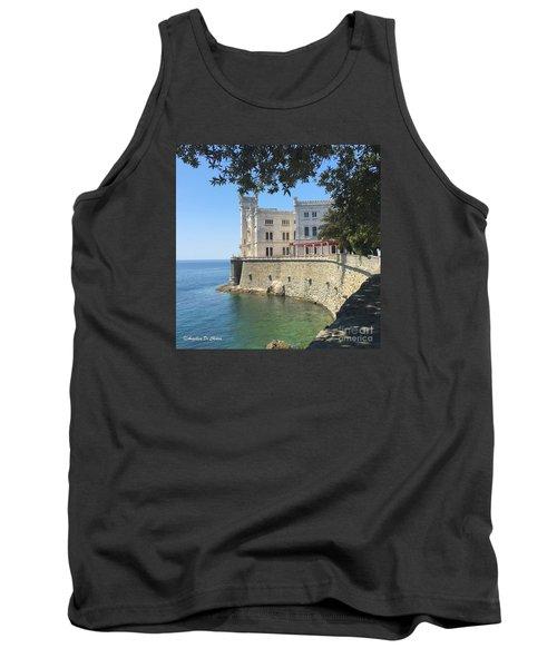 Trieste- Miramare Castle Tank Top