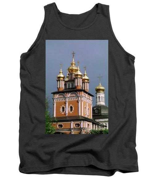 Trinity Lavra Of St. Sergius Monastery Sergiev Posad Zagorsk Tank Top by Wernher Krutein