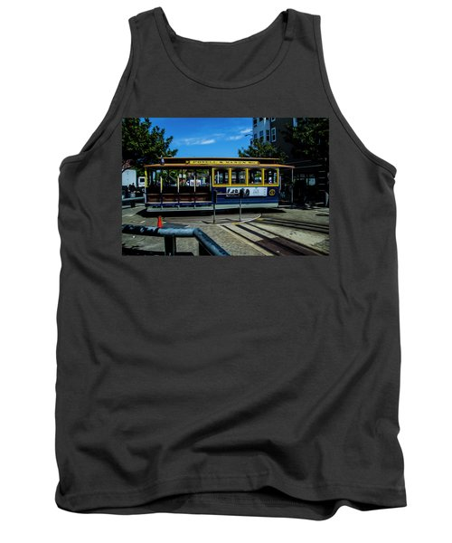Trolley Car Turn Around Tank Top