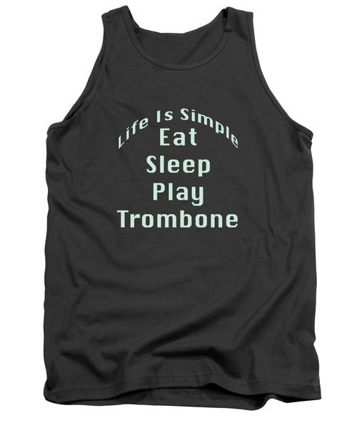 Trombone Eat Sleep Play Trombone 5518.02 Tank Top