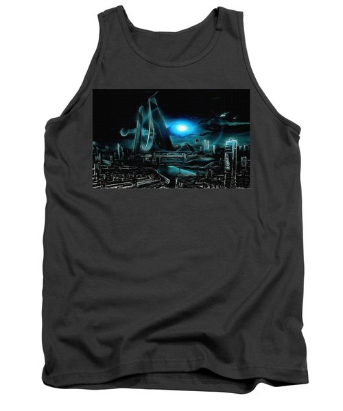 Tron Revisited Tank Top