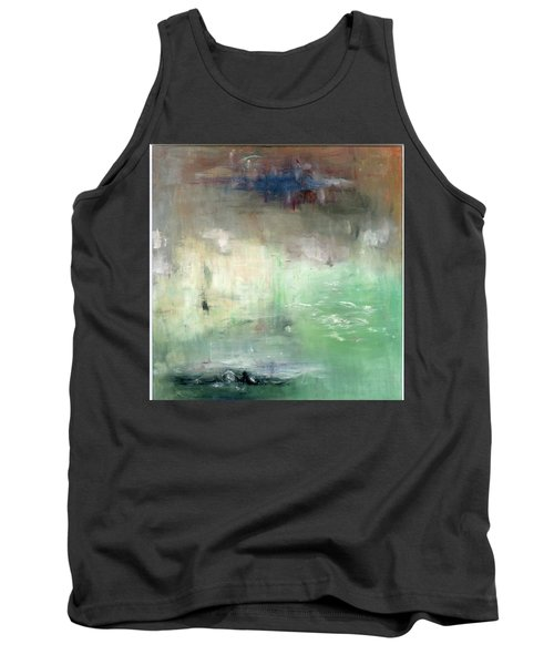 Tank Top featuring the painting Tropic Waters by Michal Mitak Mahgerefteh