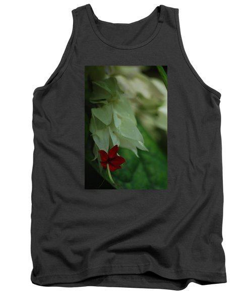 Tank Top featuring the photograph Tropical Bleeding Heart by Ramona Whiteaker