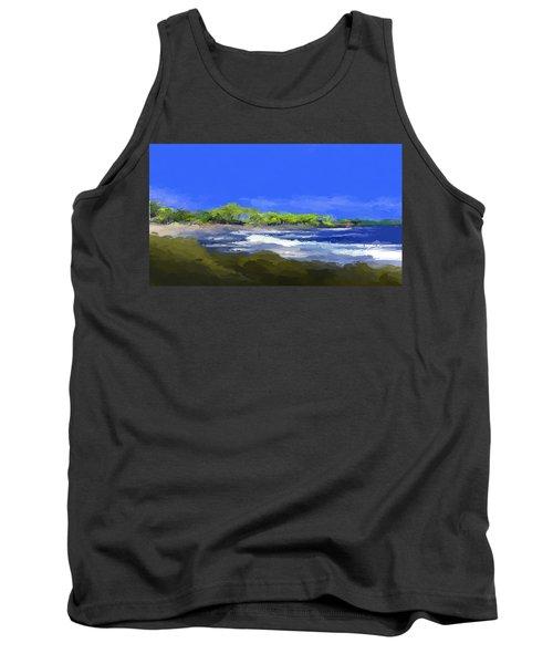 Tropical Island Coast Tank Top