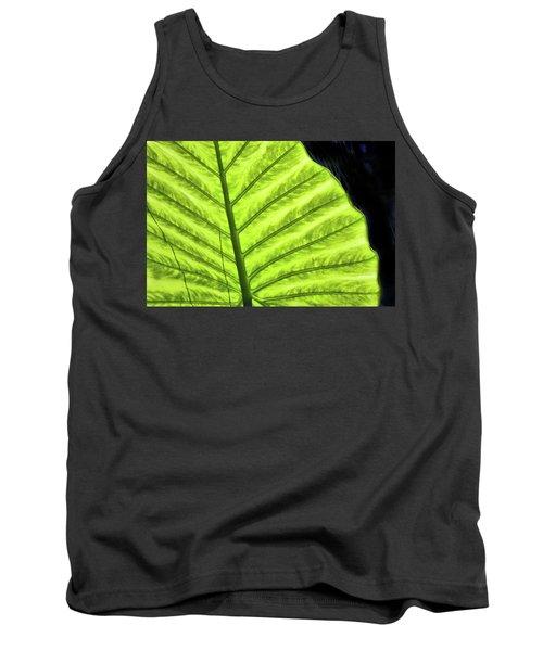 Tropical Leaf Tank Top