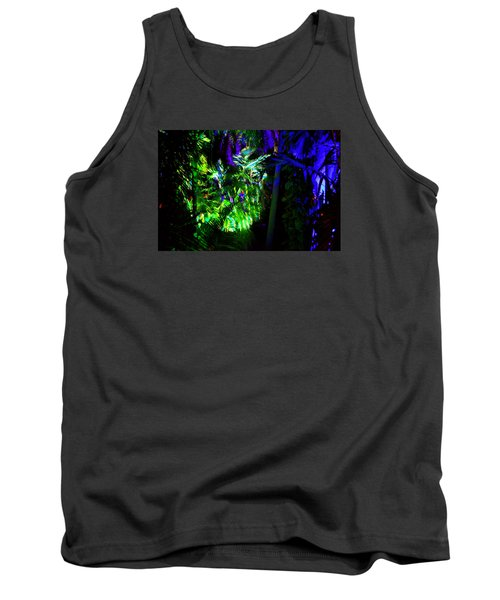 Tank Top featuring the photograph Into The Psychedelic Jungle by Richard Ortolano