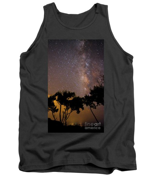 Tropical Milky Way Tank Top