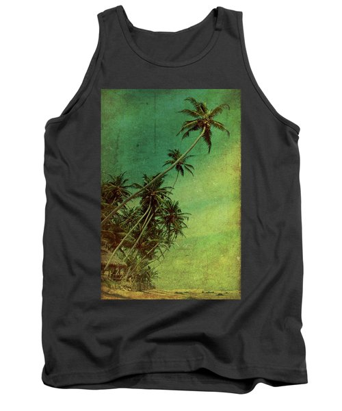 Tropical Vestige Tank Top by Andrew Paranavitana