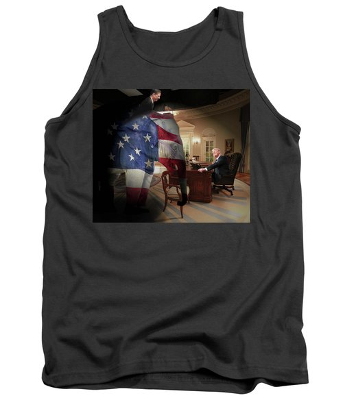 Trump And Comey Tank Top
