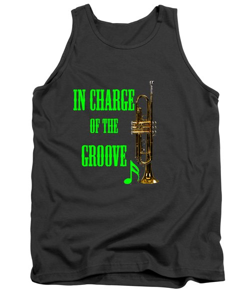 Trumpets In Charge Of The Groove 5535.02 Tank Top by M K  Miller