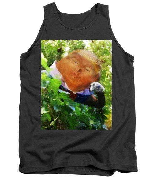Trumpty Dumpty San On A Wall Tank Top