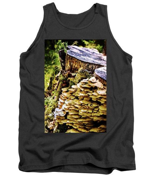 Trunk And Mushrooms Tank Top