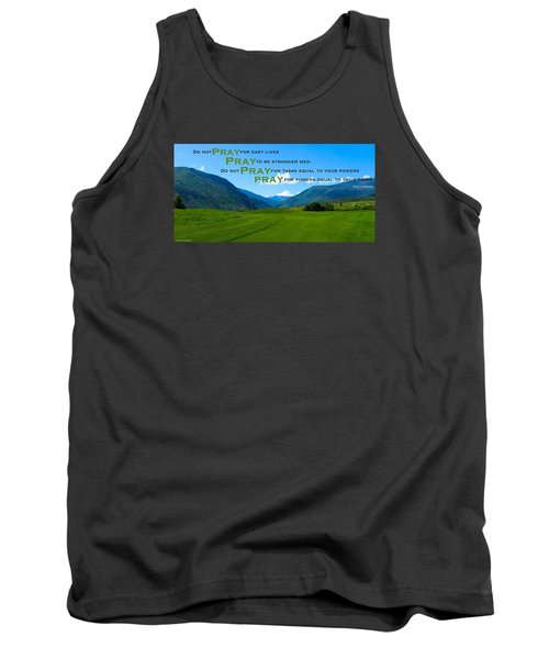 Truth In Fellowship Tank Top by David Norman