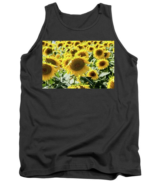 Tank Top featuring the photograph Trying To Feel Unique by Greg Fortier