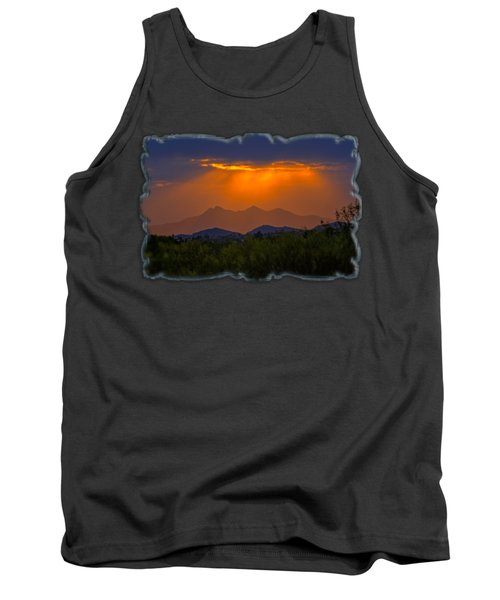 Tucson Mountains Sunset H29 Tank Top