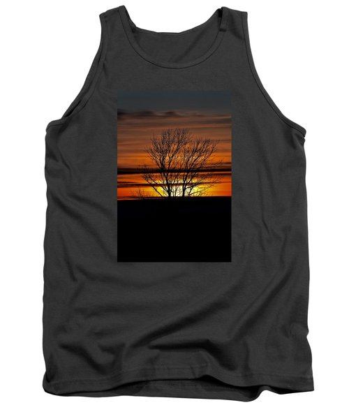 Tank Top featuring the photograph Tuesday Afternoon Sunset by Dacia Doroff
