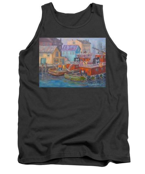 Tug Boats Portsmouth Maritime Painting Tank Top