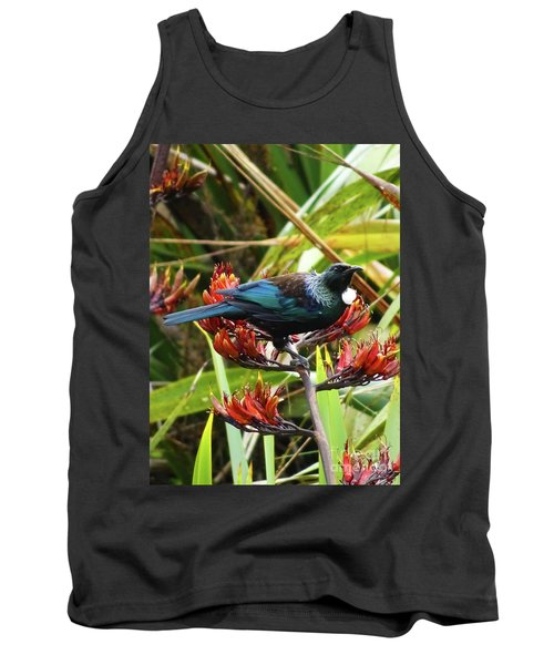 Tui In Flax Tank Top by Angela DeFrias