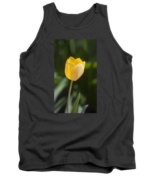Tulip Portrait Tank Top by Morris  McClung