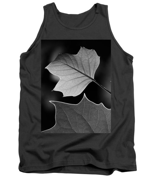 Tank Top featuring the photograph Tulip Tree Leaves Competing For Light by Jane Ford