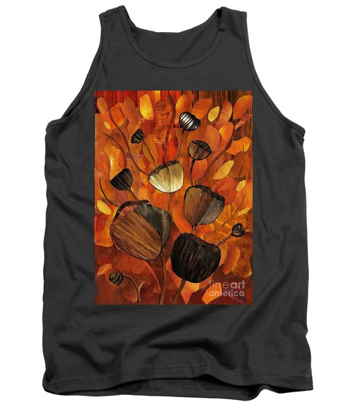 Tulips And Violins Tank Top