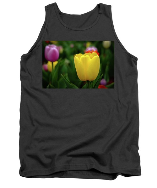 Tulips At Campus Tank Top