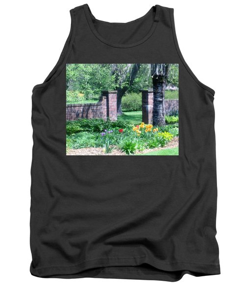 Tulips At Glen Magna Farms Tank Top by Paul Meinerth