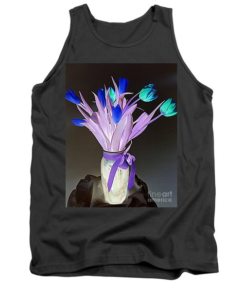 Tulips Cancer 1 Tank Top