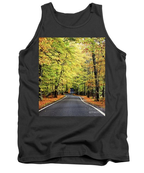Tunnel Of Trees Tank Top