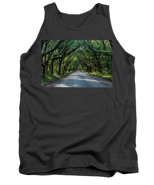 Tank Top featuring the photograph Tunnel On Botany Bay by Jon Glaser