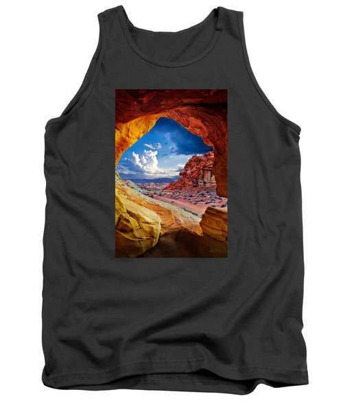 Tunnel Vision Tank Top by Renee Sullivan