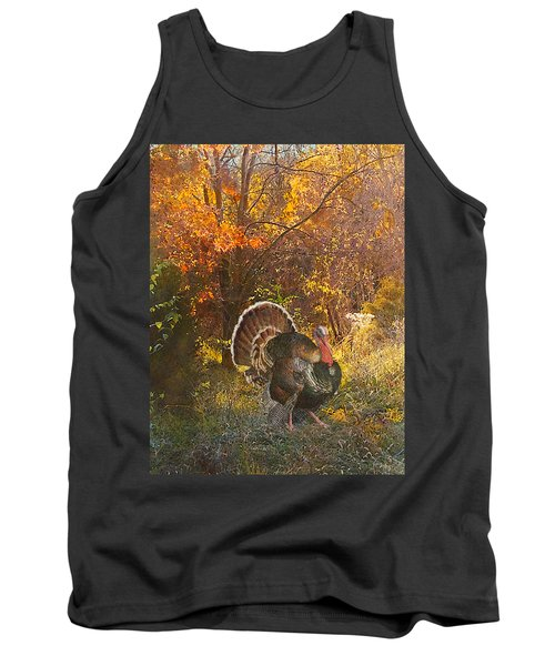 Turkey In The Woods Tank Top
