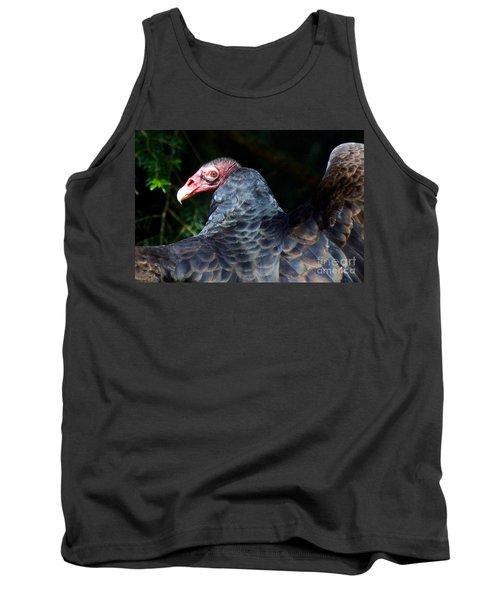 Turkey Vulture Tank Top by Sean Griffin