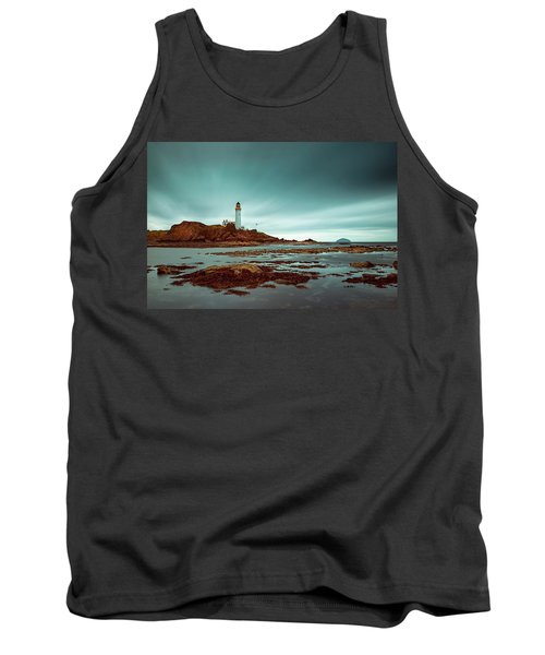 Turnberry Lighthouse Tank Top by Ian Good