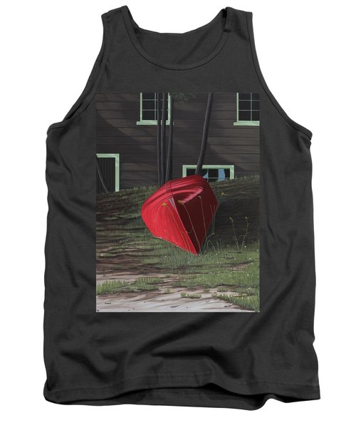 Turned Down Day Tank Top