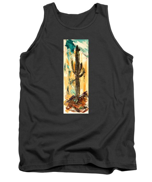 Turquoise And Topaz Tank Top