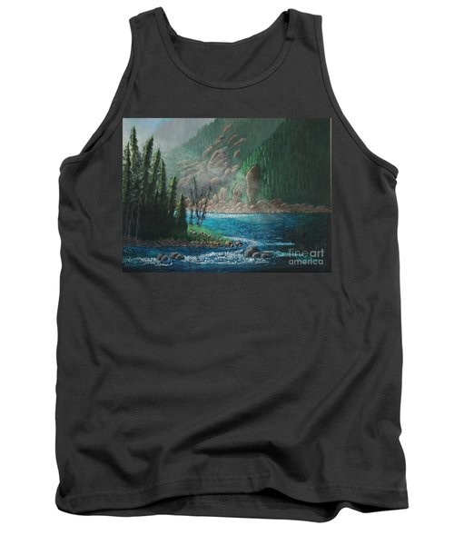 Turquoise River Tank Top